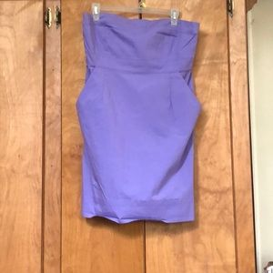 New York & Company Strapless Dress